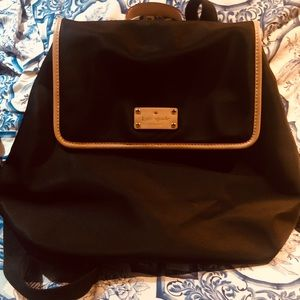 Kate Spade Nylon/leather Backpack great travel NWT